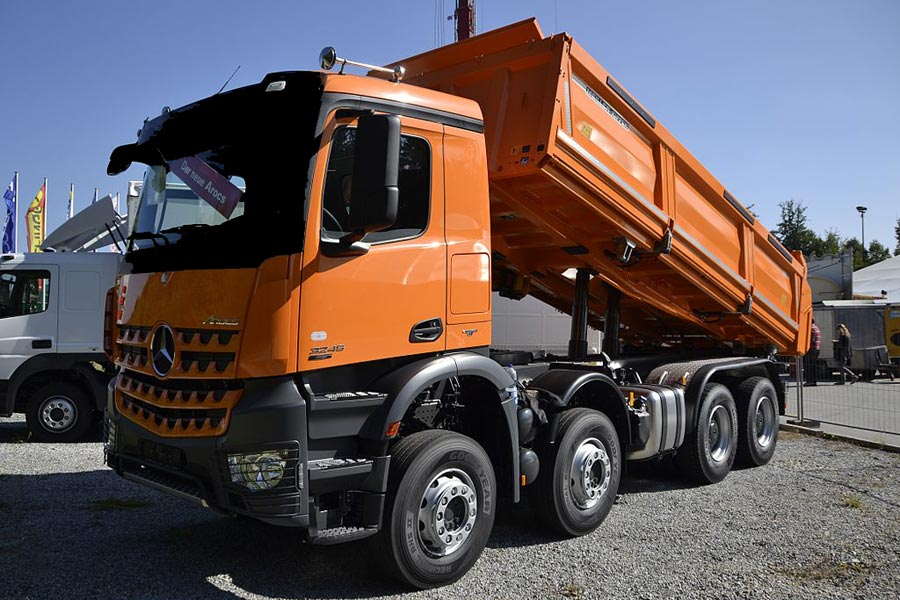 Demo Dump Truck Image